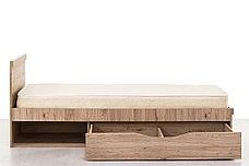 Кровать односпальная (Oskar 90), коллекции Оскар, Дуб Санремо, Анрэкс (Беларусь), фото 2