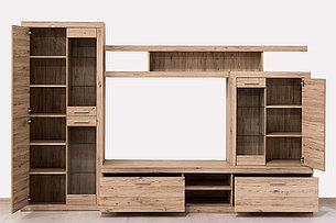 Шкаф витрина 2Д  как часть комплекта Оскар, Дуб Санремо, Анрэкс (Беларусь), фото 2