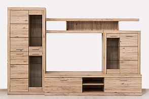 Шкаф витрина 4Д как часть комплекта Оскар, Дуб Санремо, Анрэкс (Беларусь), фото 2