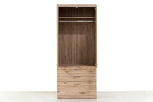 Шкаф для одежды 2Д (Oskar 2D3S), коллекции Оскар, Дуб Санремо, Анрэкс (Беларусь), фото 2