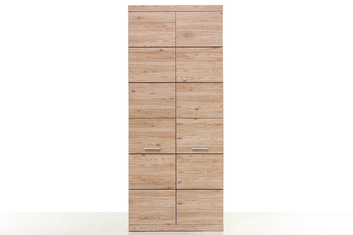 Шкаф для одежды 2Д (Oskar 2DG) коллекции Оскар, Дуб Санремо, Анрэкс (Беларусь)