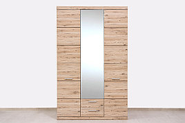 Шкаф для одежды 3Д (Oskar 3D2S), коллекции Оскар, Дуб Санремо, Анрэкс (Беларусь)