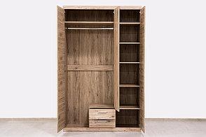 Шкаф для одежды 3Д (Oskar 3D2S), коллекции Оскар, Дуб Санремо, Анрэкс (Беларусь), фото 2