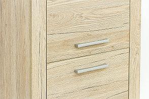 Шкаф для белья 2Д (Oskar 2D), коллекции Оскар, Дуб Санремо, Анрэкс (Беларусь), фото 3