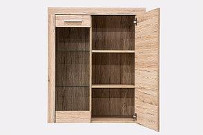 Шкаф витрина 2Д (Oskar 1V1D), коллекции Оскар, Дуб Санремо, Анрэкс (Беларусь), фото 2