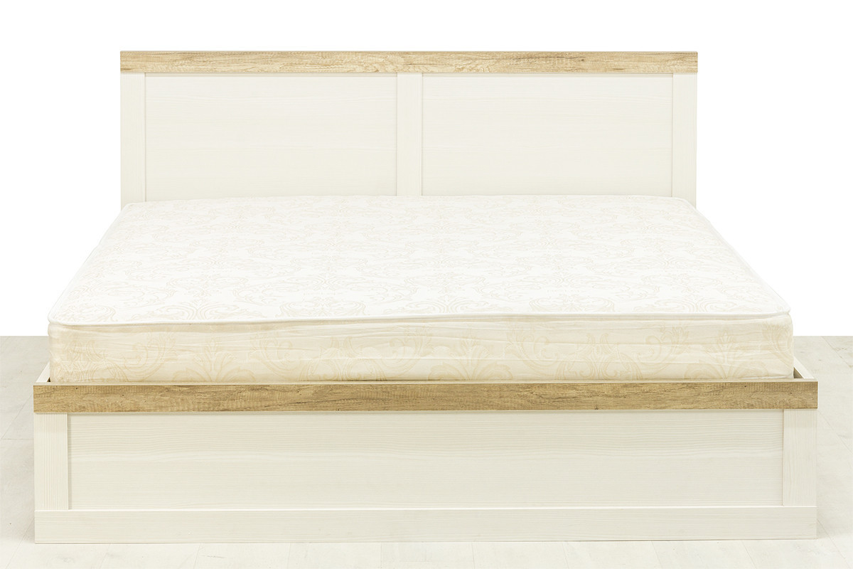 Кровать двуспальная (Provans 160), коллекции Прованс, Дуб Кантри, Анрэкс (Беларусь)