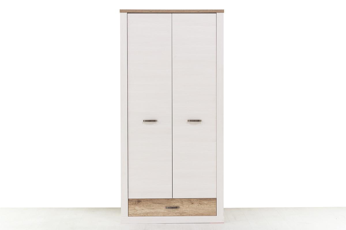 Шкаф для одежды  2Д  (Provans 2DG1S) коллекции Прованс, Дуб Кантри, Анрэкс (Беларусь)