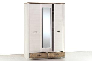 Шкаф для одежды 3Д (Provans 3DG2S) коллекции Прованс, Дуб Кантри, Анрэкс (Беларусь), фото 2