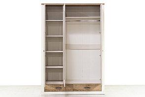 Шкаф для одежды 3Д (Provans 3DG2S) коллекции Прованс, Дуб Кантри, Анрэкс (Беларусь), фото 3