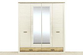 Шкаф для одежды 4Д (Provans 4DG2S Z), коллекции Прованс, Дуб Кантри, Анрэкс (Беларусь)