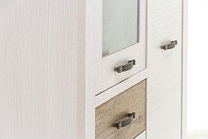 Шкаф витрина 3Д (Provans 1V2D1S), коллекции Прованс, Дуб Кантри, Анрэкс (Беларусь), фото 2