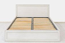 Кровать двуспальная (Tiffany 140 с подъемником), коллекции Тиффани, Вудлайн Кремовый, Анрэкс (Беларусь), фото 3