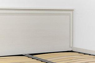 Кровать двуспальная (Tiffany 140), коллекции Тиффани, Вудлайн Кремовый, Анрэкс (Беларусь), фото 2