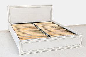 Кровать двуспальная (Tiffany 160), коллекции Тиффани, Вудлайн Кремовый, Анрэкс (Беларусь), фото 3