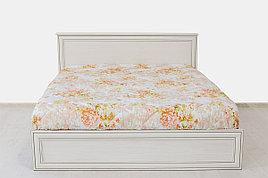 Кровать двуспальная (Tiffany 180), коллекции Тиффани, Вудлайн Кремовый, Анрэкс (Беларусь)