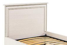 Кровать односпальная (Tiffany 90), коллекции Тиффани, Вудлайн Кремовый, Анрэкс (Беларусь), фото 3