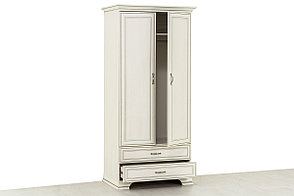 Шкаф для одежды 2Д (Tiffany 2DG2S), коллекции Тиффани, Вудлайн Кремовый, Анрэкс (Беларусь), фото 2