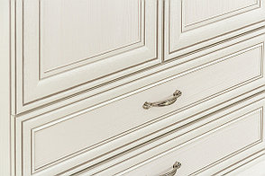 Шкаф для одежды 2Д (Tiffany 2DG2S), коллекции Тиффани, Вудлайн Кремовый, Анрэкс (Беларусь), фото 3