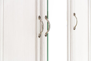Шкаф для одежды 3Д (Tiffany 3D4S), коллекции Тиффани, Вудлайн Кремовый, Анрэкс (Беларусь), фото 2