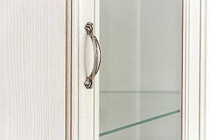 Шкаф витрина угловая надставная 1Д (Tiffany 1VU), коллекции Тиффани, Вудлайн Кремовый, Анрэкс (Беларусь), фото 2