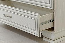 Шкаф витрина 2Д (Tiffany 2V2S), коллекции Тиффани, Вудлайн Кремовый, Анрэкс (Беларусь), фото 3
