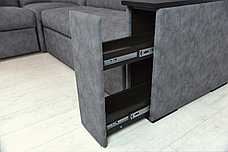 Комплект мягкой мебели Плаза 3, Серый, Нижегородмебель и К(Россия), фото 3