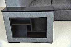 Комплект мягкой мебели Плаза 3, Серый, Нижегородмебель и К(Россия), фото 2