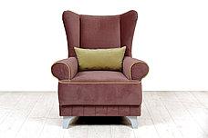 Комплект мягкой мебели Каролина, Серо/Розовый, Нижегородмебель и К(Россия), фото 2