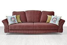 Комплект мягкой мебели Каролина, Серо/Розовый, Нижегородмебель и К(Россия), фото 3