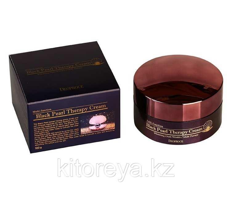 Eoproce Black pearl therapy cream Крем для лица с черным жемчугом антивозрастной