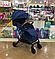 Прогулочная коляска Slillmax GK01 Blue Jeans, фото 4