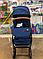 Прогулочная коляска Slillmax GK01 Blue Jeans, фото 7