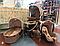 Детская коляска 3 в 1 Skillmax Biege, фото 2