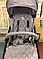 Прогулочная коляска TM Серый лён, фото 7