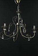 Классическая люстра на 3 рожка бронза, фото 1