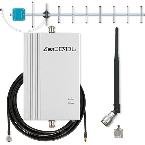 Комплект усиления сотовой связи ДалСВЯЗЬ DS-2100-20C1