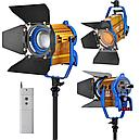 LED световой прибор-прожектор CE-1500WS с линзой френеля, фото 2