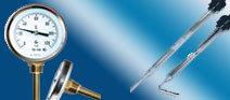 Термометры электроконтактные, биметаллические, термоконтакторы