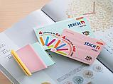 Клейкие листики STICK`N Magic 76 х 127 мм, 4 цвета, 100 листов, фото 4