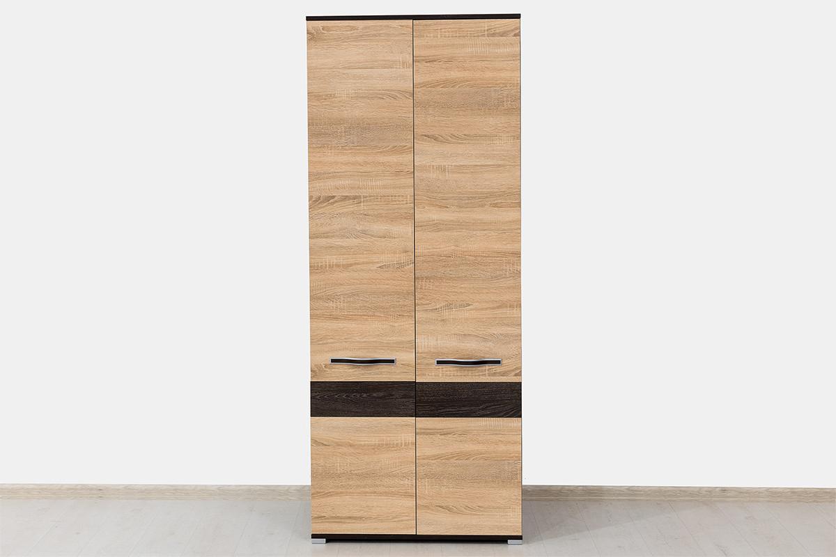 Шкаф для одежды 2Д Сапфир, Сонома, Горизонт (Россия)
