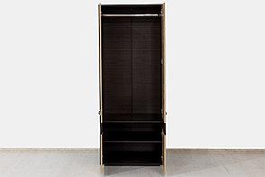 Шкаф для одежды 2Д Сапфир, Сонома, Горизонт (Россия), фото 2