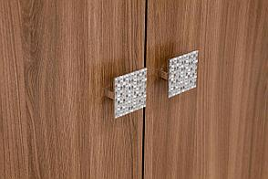 Шкаф для одежды 2Д Нота 16, Ясень Шимо темный, СВ Мебель (Россия), фото 3