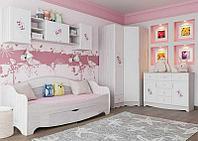 Шкаф для одежды угловой 1Д как часть комплекта Акварель 1, Белый, СВ Мебель (Россия)