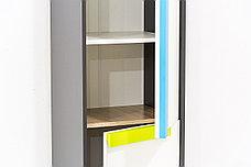Шкаф пенал 2Д модульной системы Алекс, Белый, VMV (Украина), фото 2