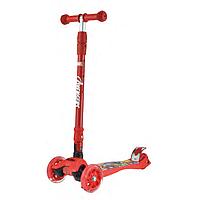 Самокат детский Scooter MG-03MZ, Красный Железный Человек