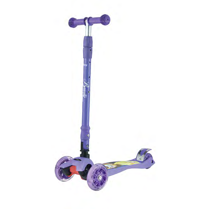 Самокат детский Scooter MG-03MZ, Фиолетовый Красавица и Чудовище, фото 2