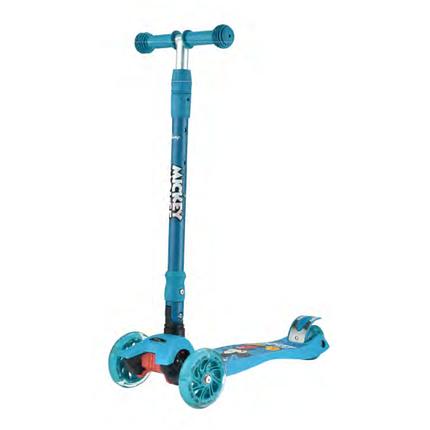 Самокат детский Scooter MG-03MZ, Синий Mickey, фото 2