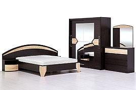 Комплект мебели для спальни Аляска, Дуб Венге, MEBEL SERVICE(Украина)