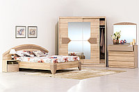 Комплект мебели для спальни Аляска, Дуб Сонома, MEBEL SERVICE(Украина)