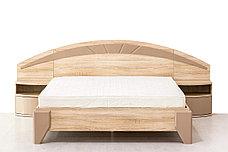 Комплект мебели для спальни Аляска, Дуб Сонома, MEBEL SERVICE(Украина), фото 3